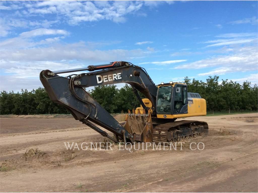 John Deere & CO. 350G, Pelle sur chenilles, Équipement De Construction