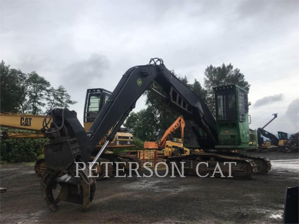John Deere & CO. 3754D, Feller Bunchers, Forestry Equipment