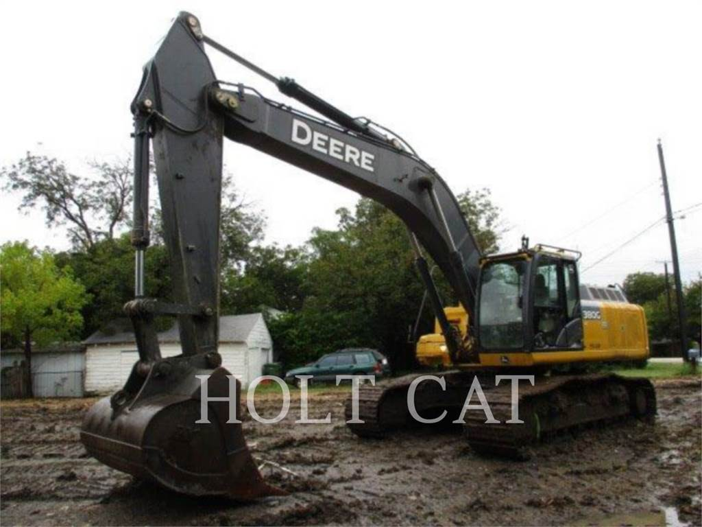 John Deere & CO. 380G, Crawler Excavators, Construction