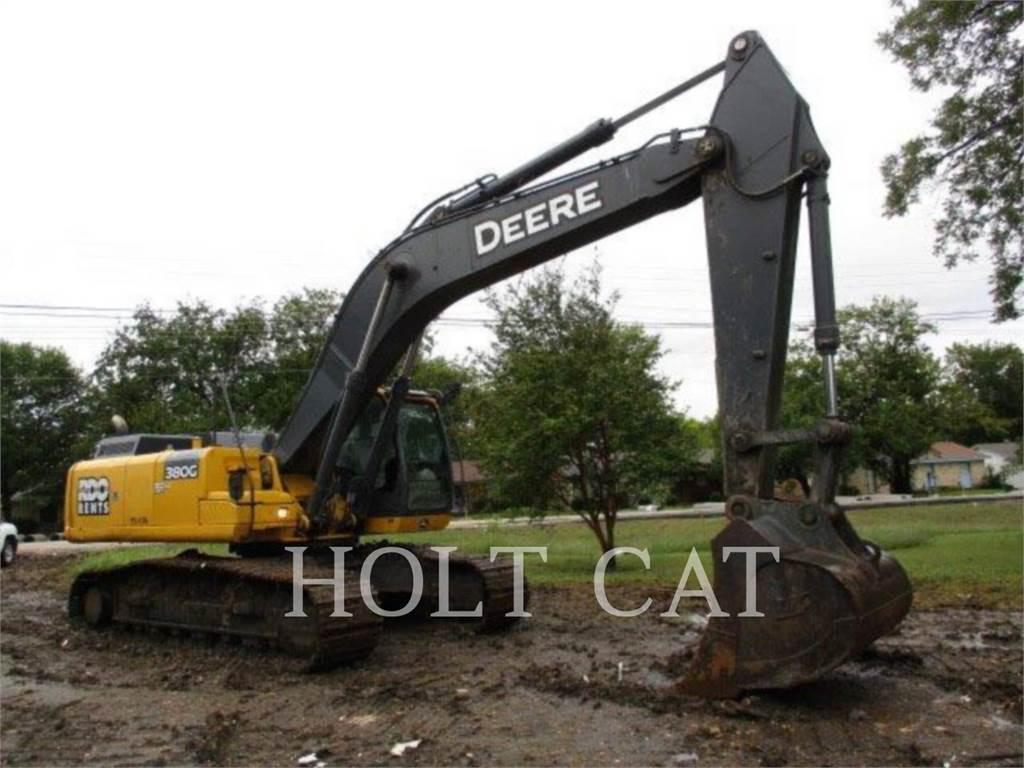 John Deere & CO. 380G, Excavatoare pe senile, Constructii