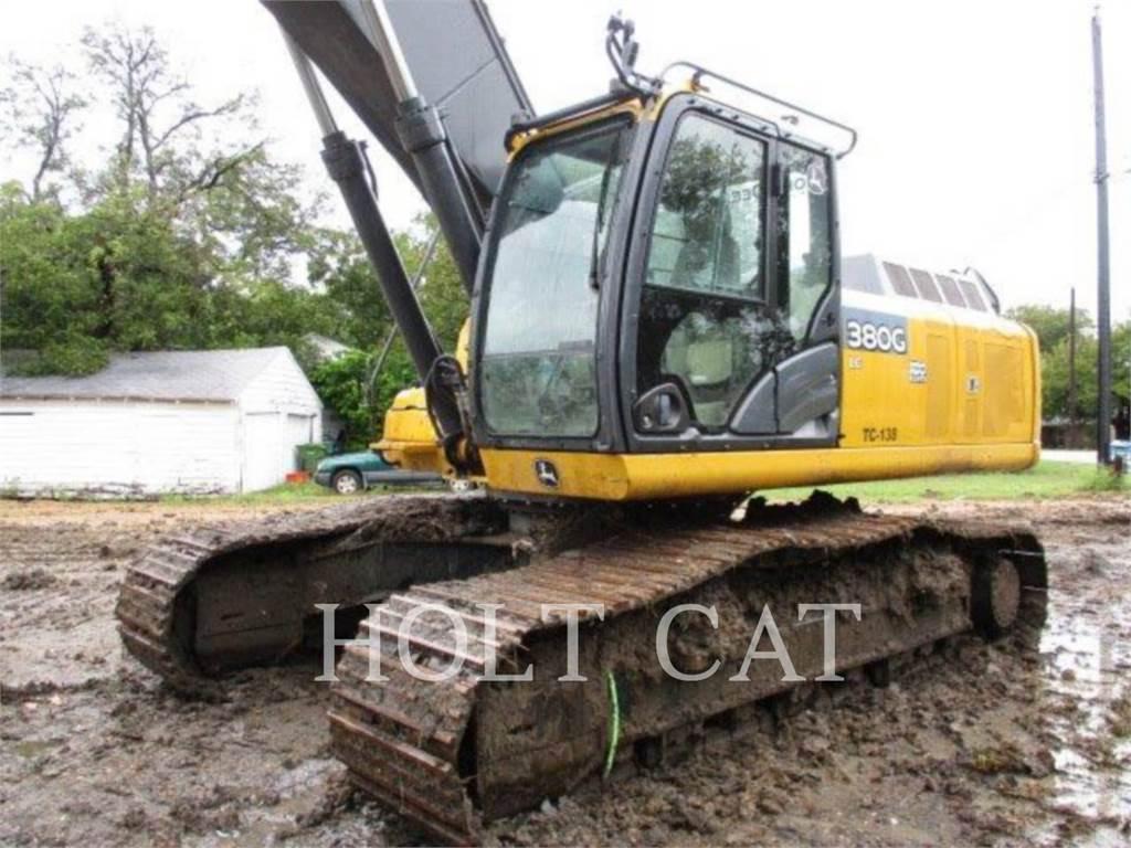 John Deere & CO. 380G、履带挖掘机、建筑设备