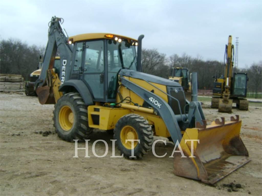 John Deere & CO. 410K, buldoexcavatoare, Constructii