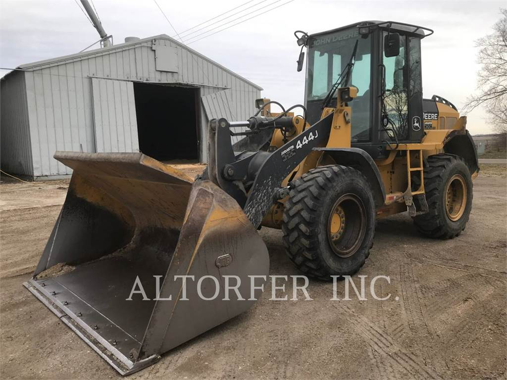 John Deere & CO. 444J, Wheel Loaders, Construction