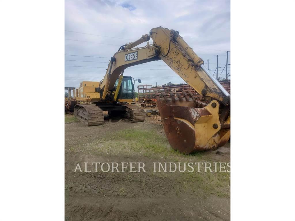 John Deere & CO. 450CLC, Koparki gąsienicowe, Sprzęt budowlany