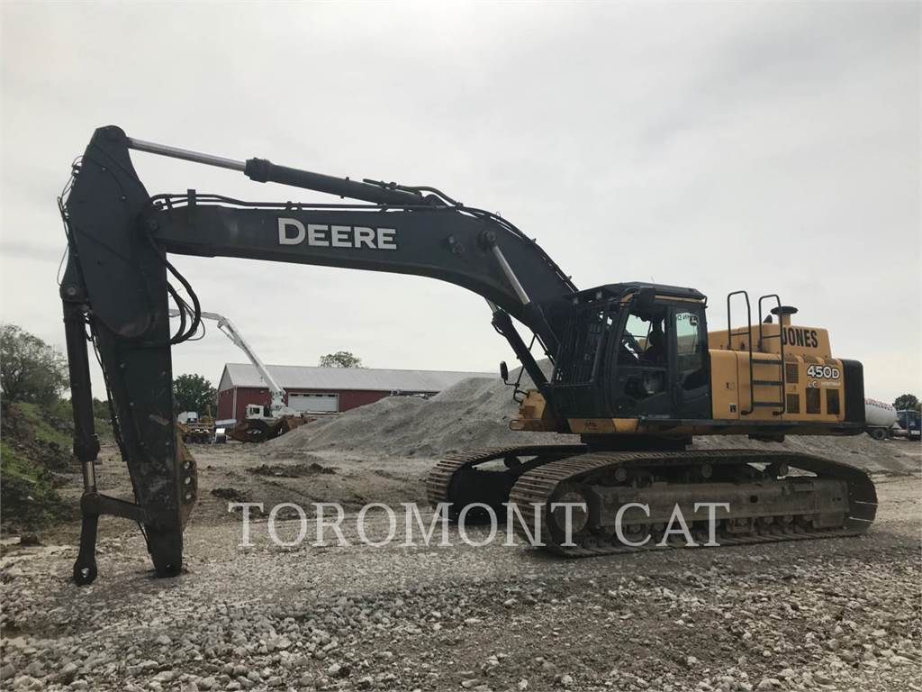 John Deere & CO. 450D, Crawler Excavators, Construction