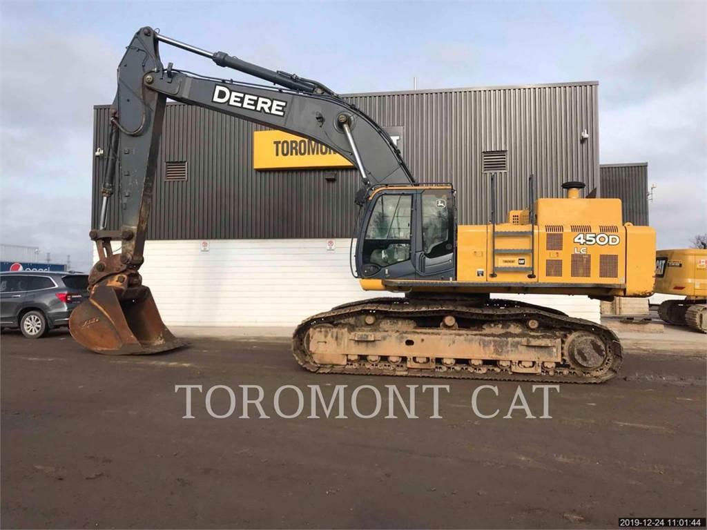 John Deere & CO. 450DLC, Crawler Excavators, Construction