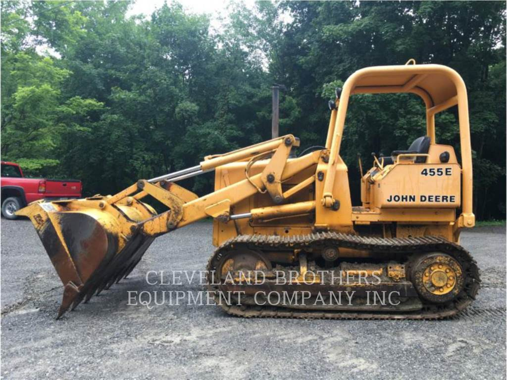 John Deere & CO. 455E, track loaders, Construction