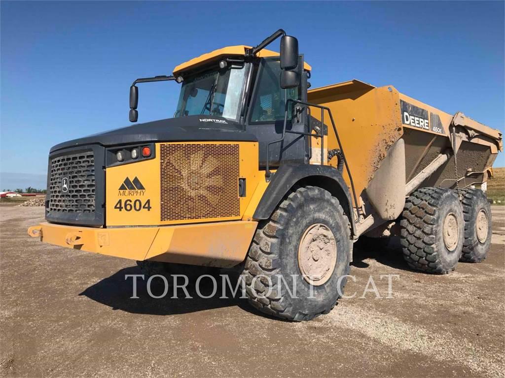 John Deere & CO. 460E, Knik dumptrucks, Bouw