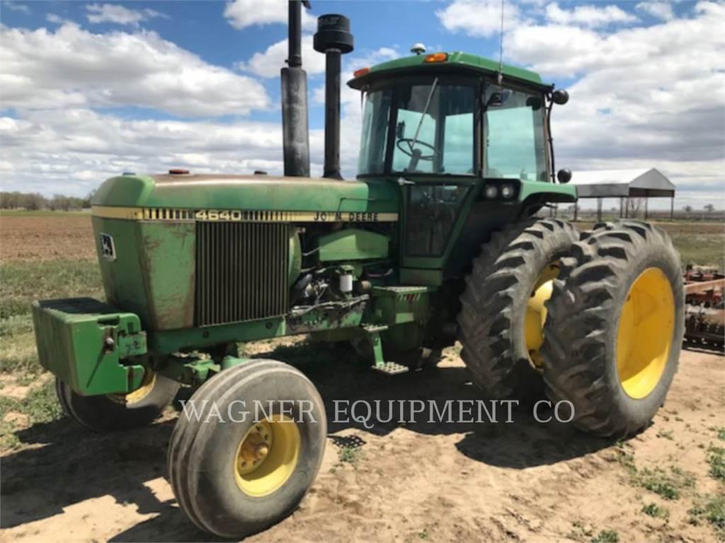 John Deere & CO. 4640, tractoare agricole, Agricultură