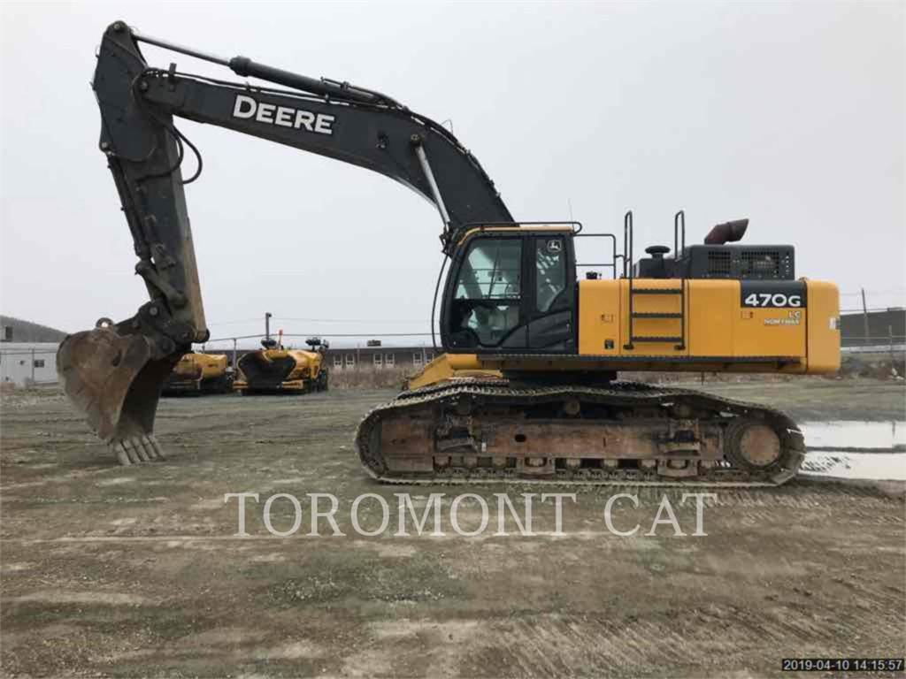 John Deere & CO. 470G LC, Crawler Excavators, Construction