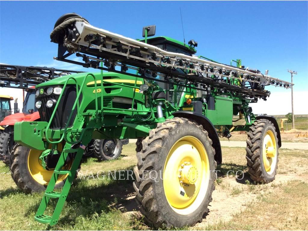 John Deere & CO. 4830, pulverizator, Agricultură