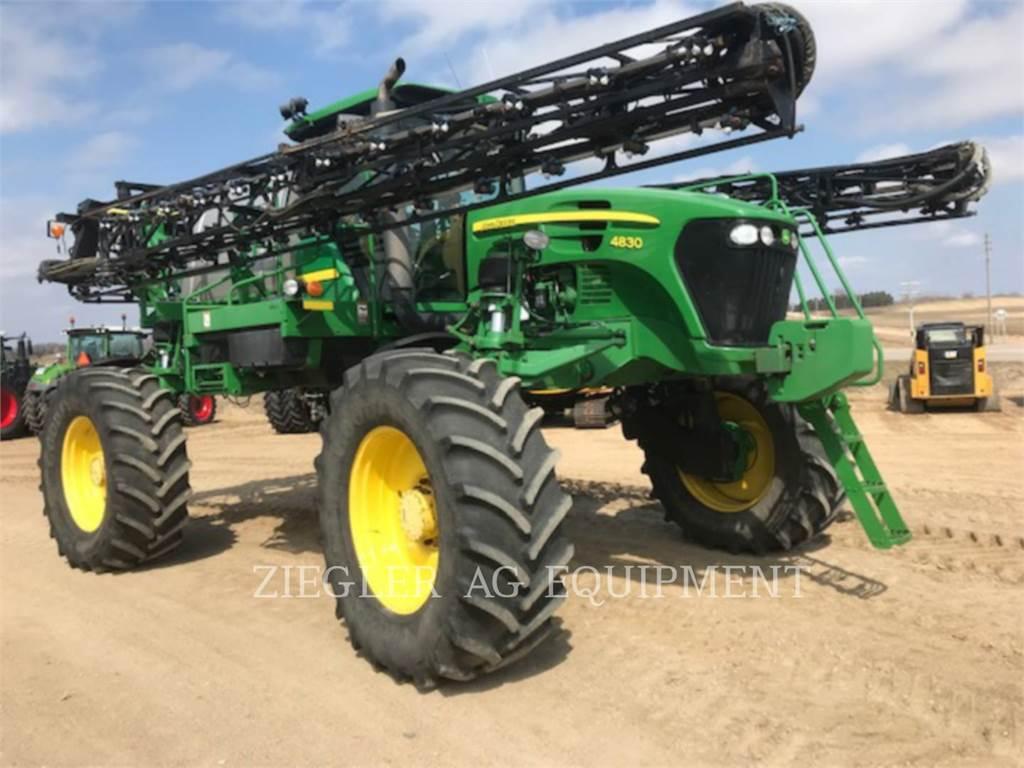John Deere & CO. 4830, Self-propelled sprayers, Agriculture