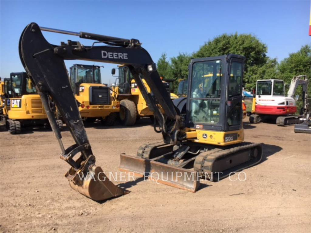 John Deere & CO. 50G, Crawler Excavators, Construction