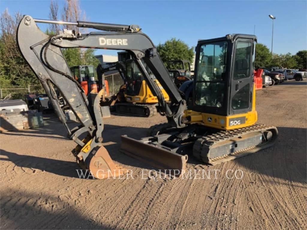 John Deere & CO  50G - Crawler Excavators - Construction