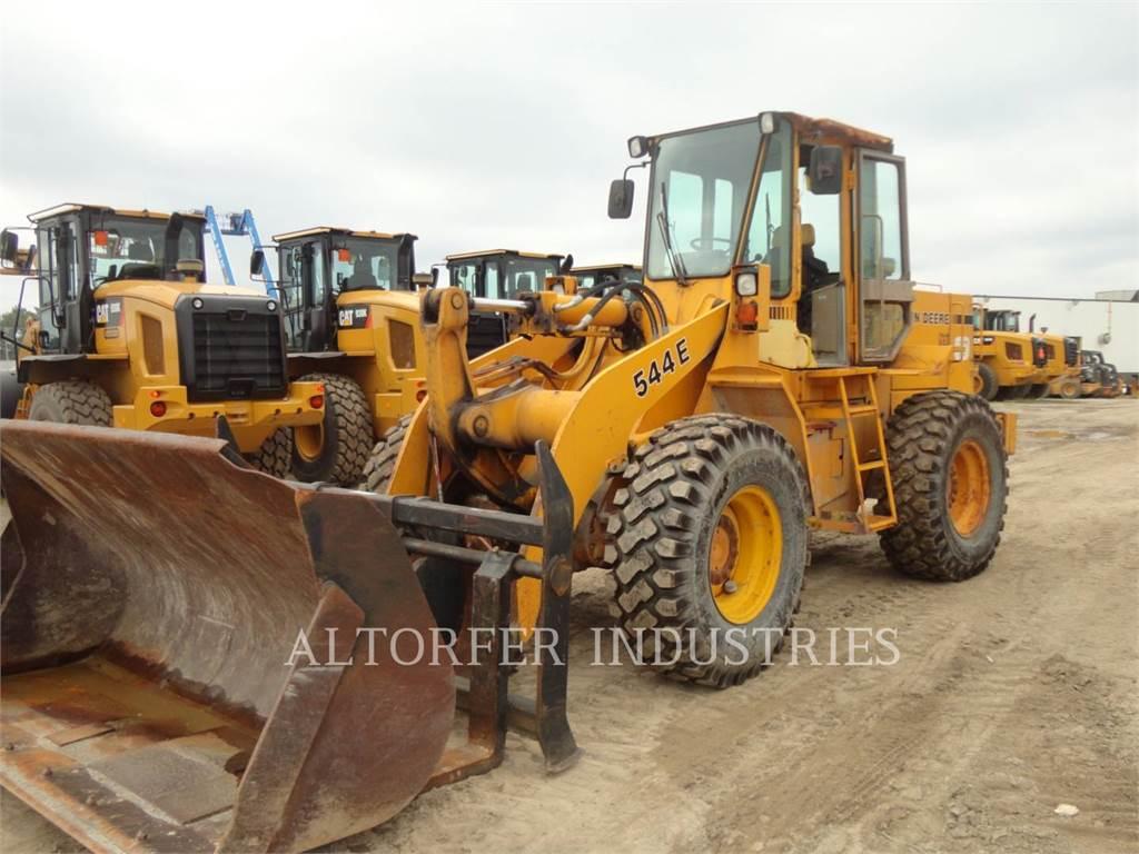 John Deere & CO. 544E, Cargadoras sobre ruedas, Construcción