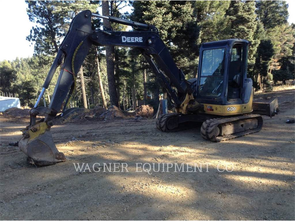 John Deere & CO. 60D, Crawler Excavators, Construction