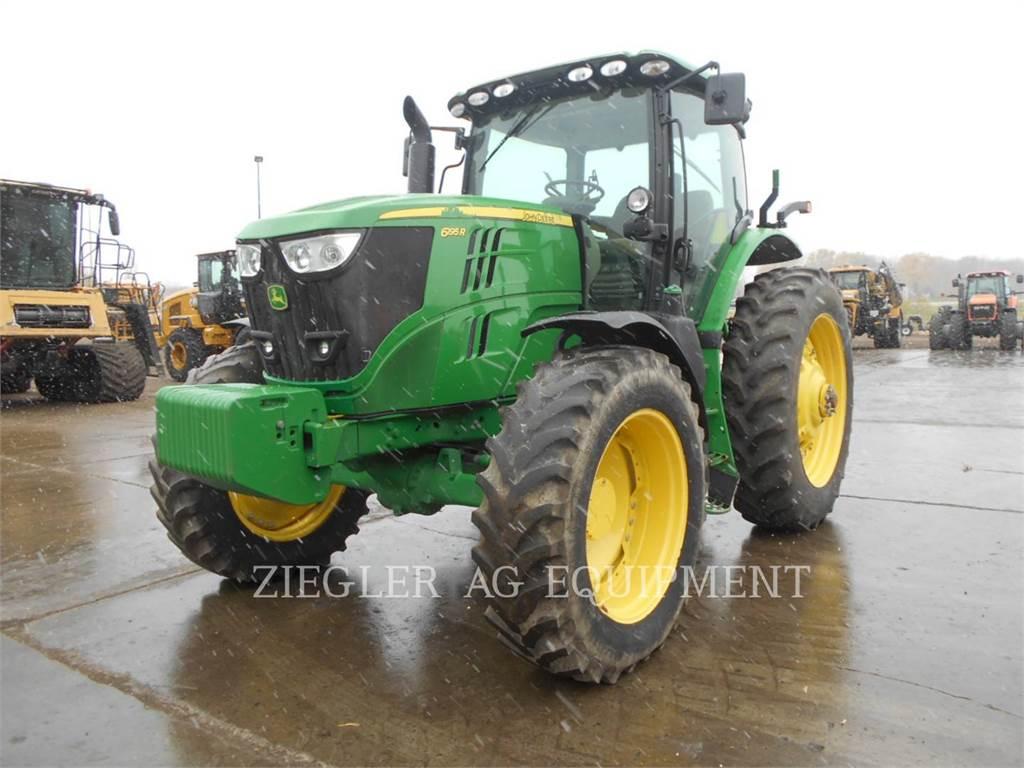 John Deere & CO. 6195R, tractores agrícolas, Agricultura