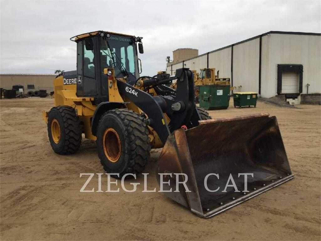 John Deere & CO. 624K, Cargadoras sobre ruedas, Construcción
