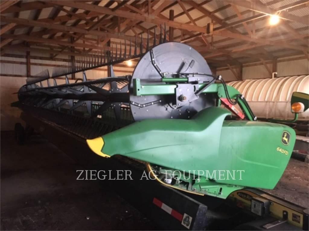 John Deere & CO. 640FD, Accessori per mietitrebbiatrici, Agricoltura