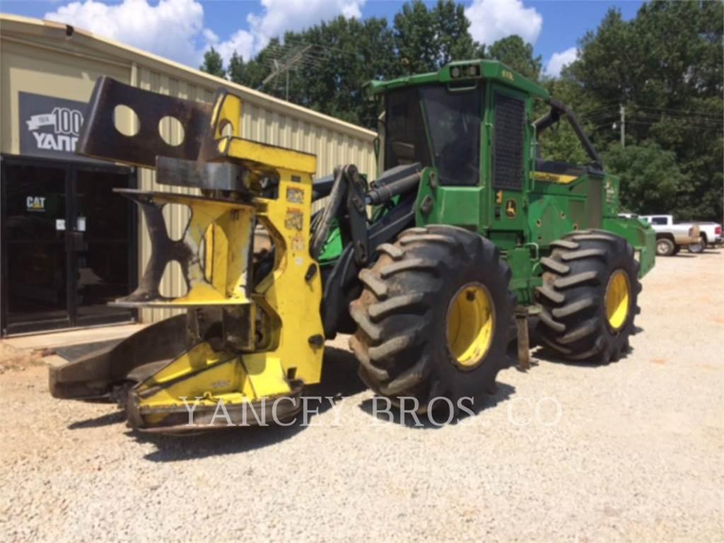 John Deere & CO. 643L, Feller Bunchers, Forestry Equipment