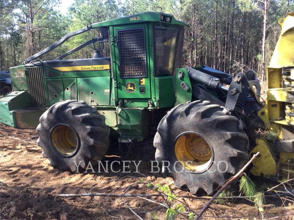 John Deere & CO. 643L, Utilaje forestier de taiat, Utilaje forestiere