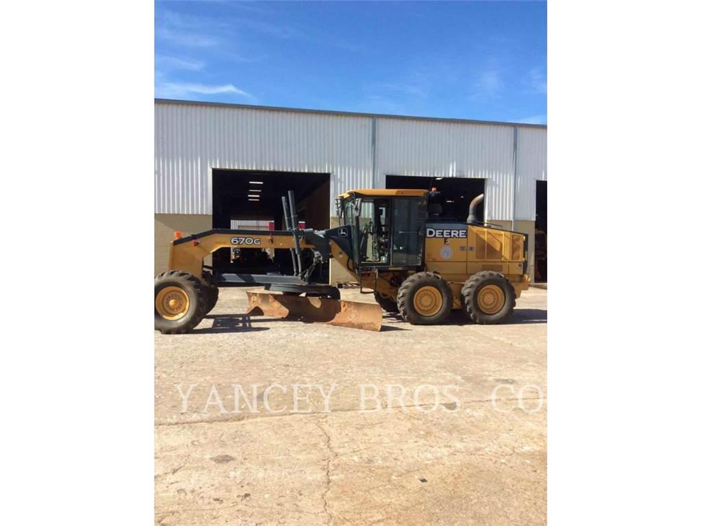 John Deere & CO. 670G, motorgrader mijnbouw, Bouw