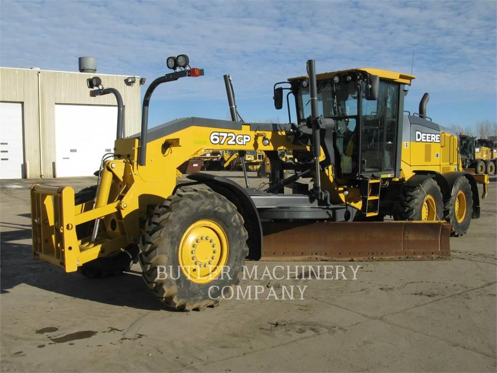 John Deere & CO. 672GP, motoniveladora de mineração, Equipamentos Construção