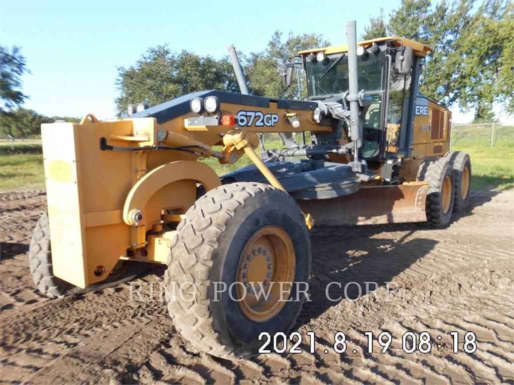John Deere & CO. 672GP, motor graders, Construction