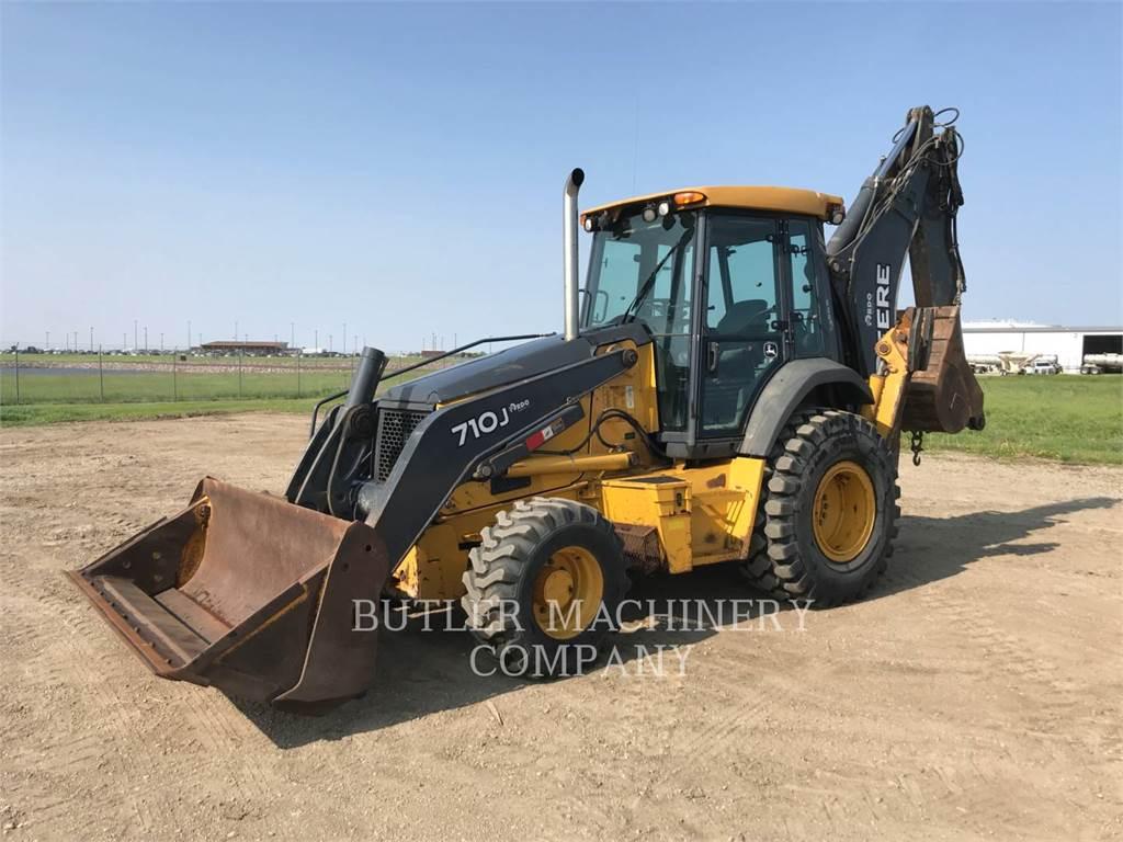 John Deere & CO. 710J, chargeuses-pelleteuses, Équipement De Construction