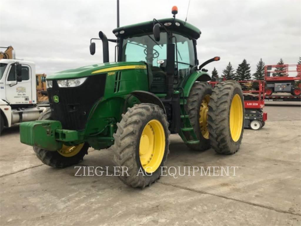 John Deere & CO. 7215R, tracteurs agricoles, Agricole