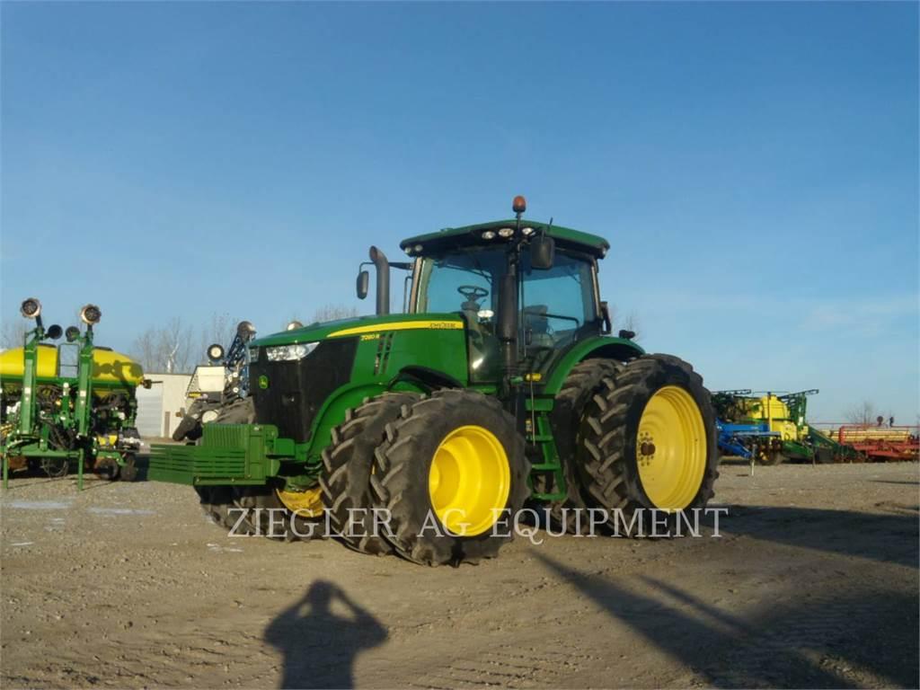 John Deere & CO. 7280R, landwirtschaftstraktoren, Landmaschinen