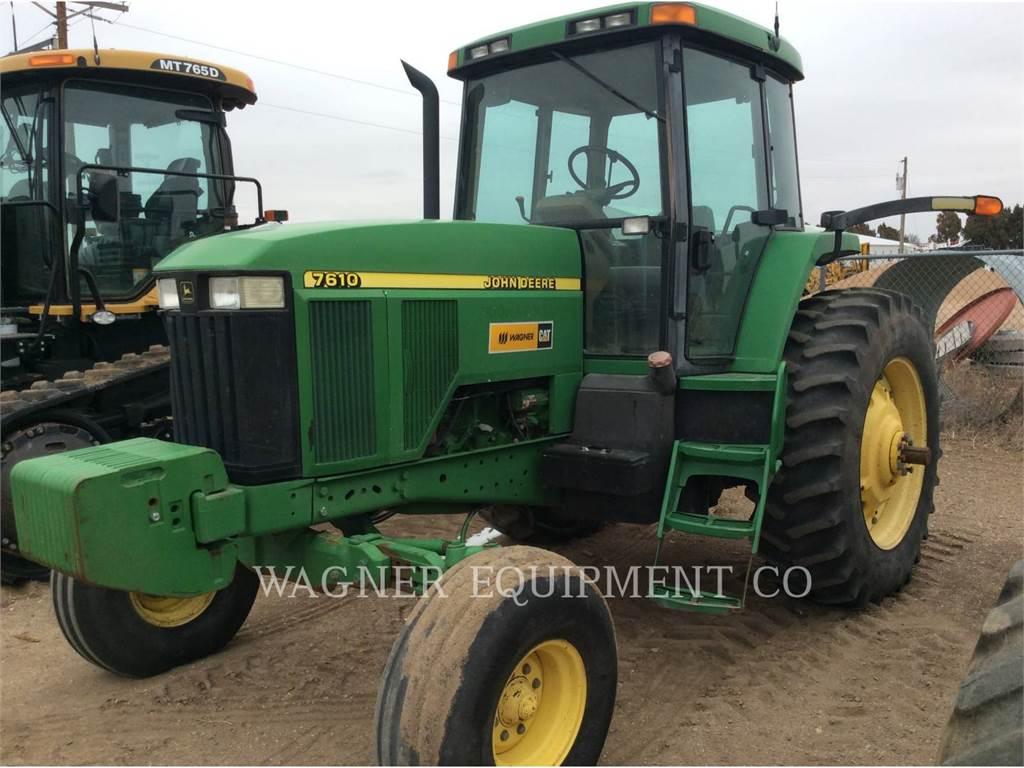 John Deere & CO. 7610, tracteurs agricoles, Agricole