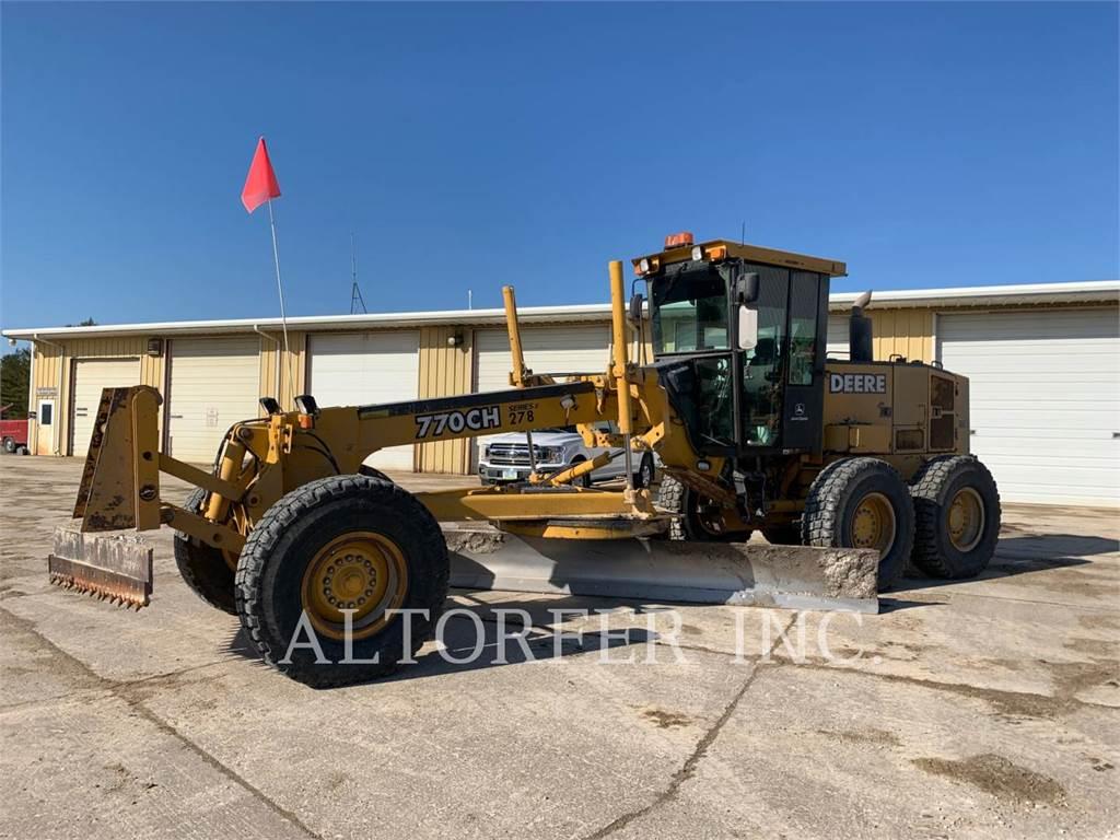 John Deere & CO. 770CH, motor graders, Construction