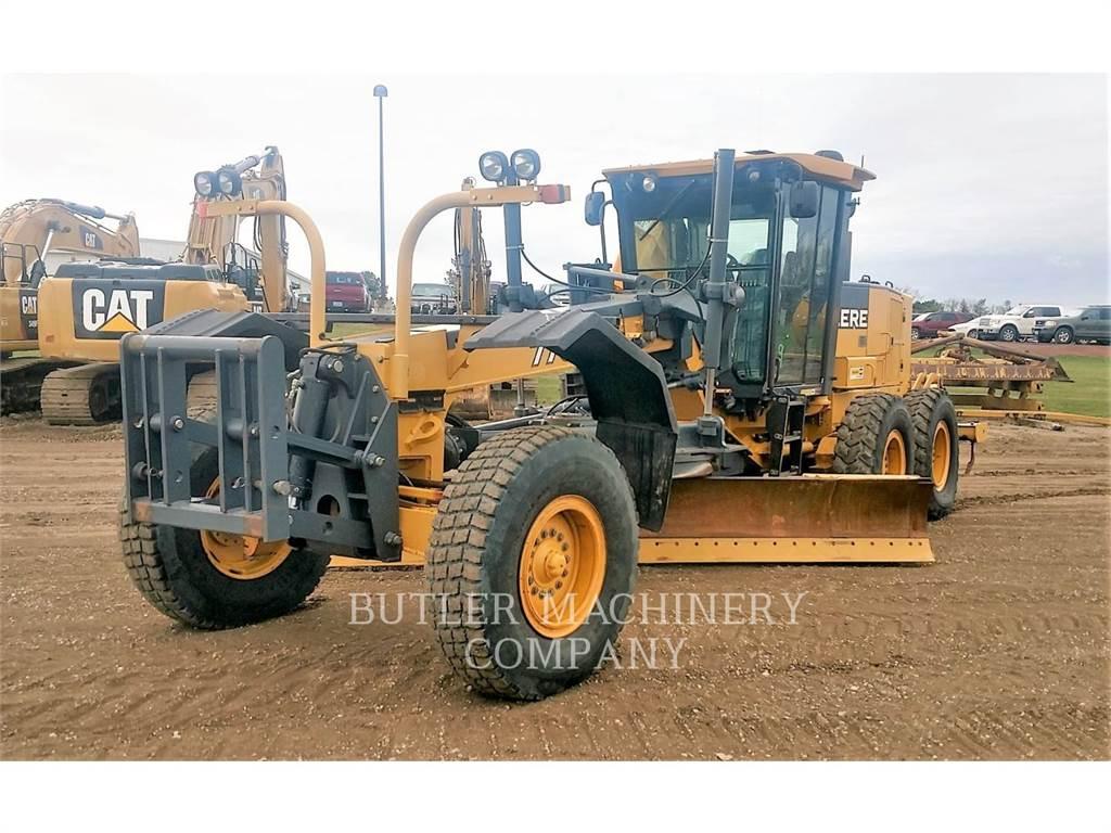 John Deere & CO. 770D, niveleuses pour mines, Équipement De Construction