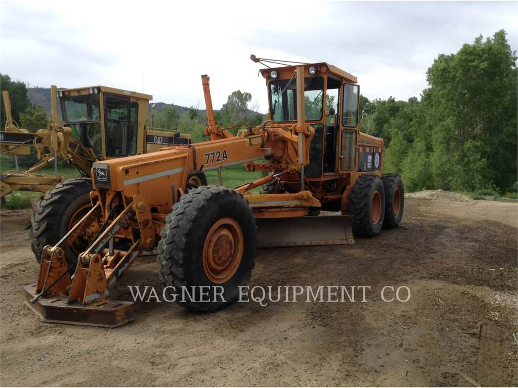 John Deere & CO. 772A, motor graders, Construction