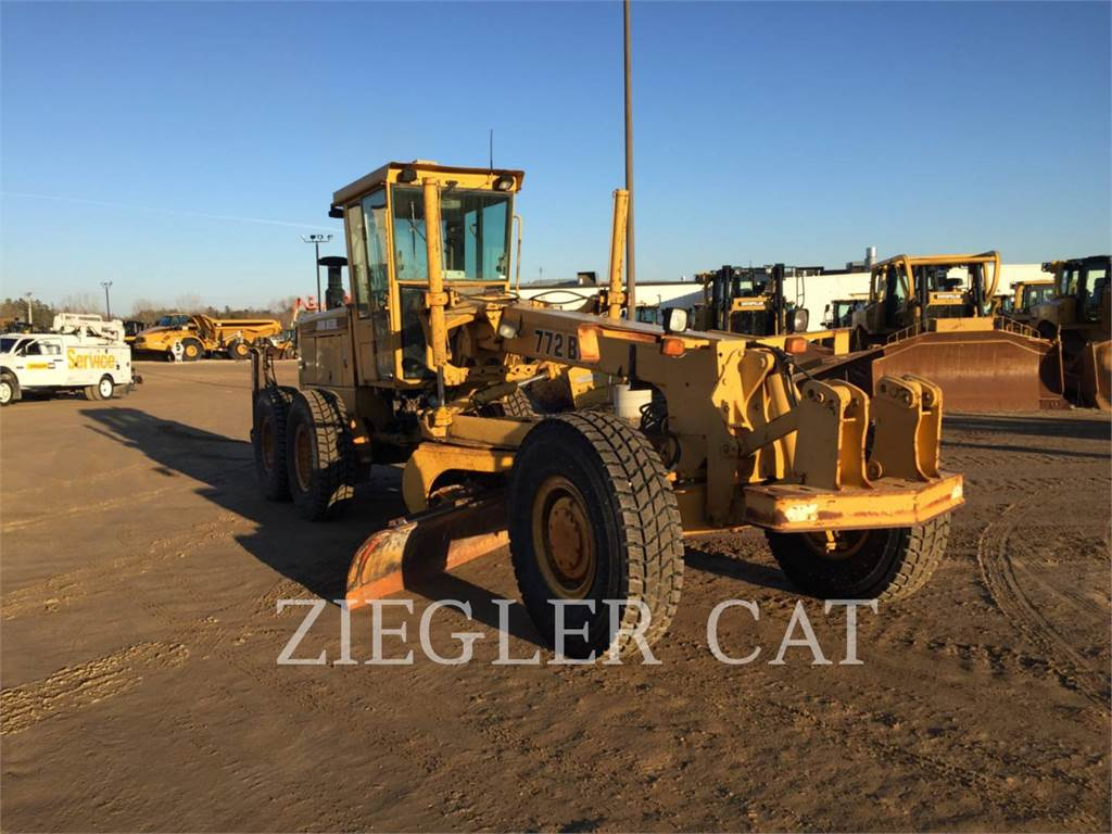 John Deere & CO. 772BH, motor graders, Construction