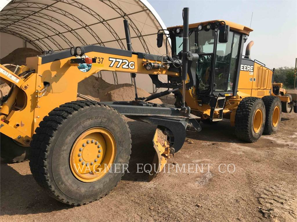 John Deere & CO. 772G/GP, motor graders, Construction