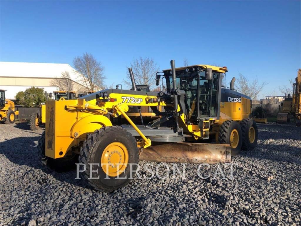 John Deere & CO. 772GP, motor graders, Construction