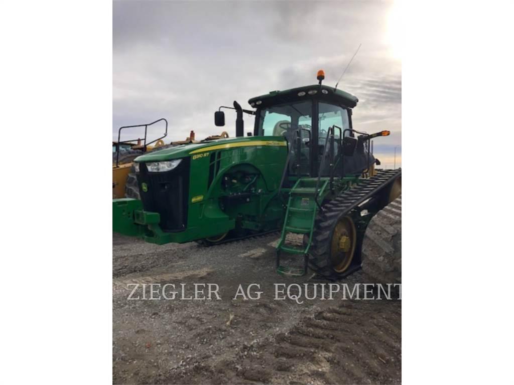 John Deere & CO. 8310RT, tracteurs agricoles, Agricole