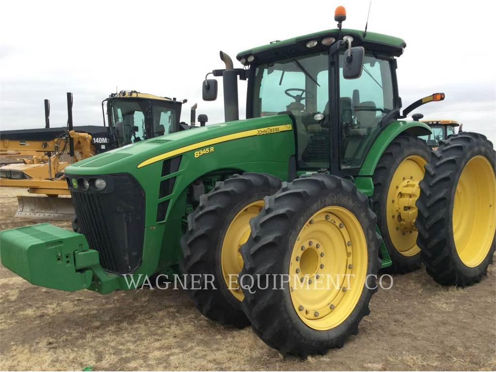 John Deere & CO. 8345R, tractors, Agriculture