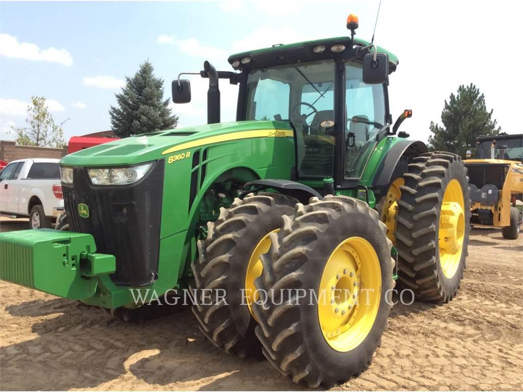 John Deere & CO. 8360R, tractores agrícolas, Agricultura
