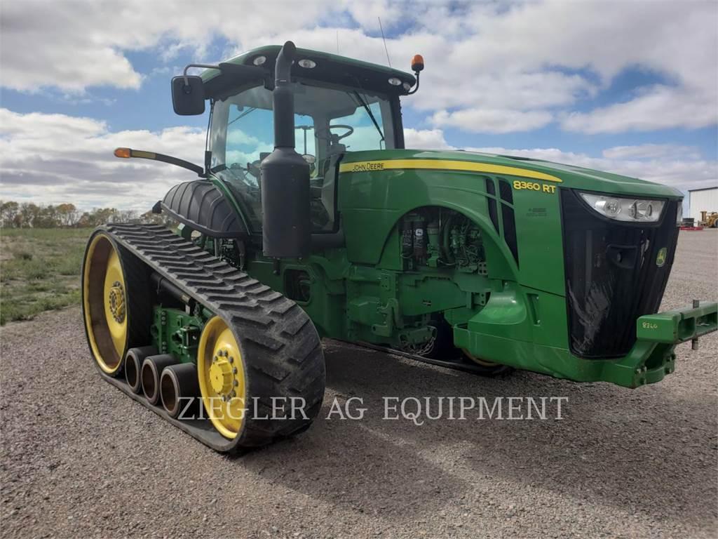 John Deere & CO. 8360RT, tractores agrícolas, Agricultura