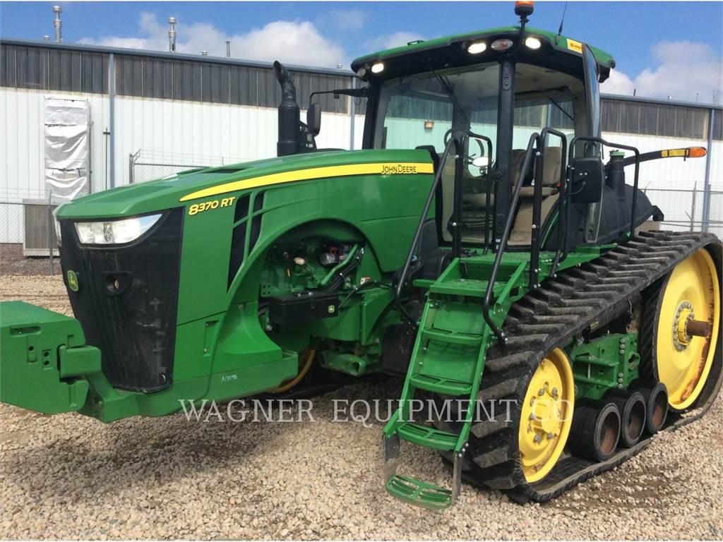 John Deere & CO. 8370RT, landwirtschaftstraktoren, Landmaschinen