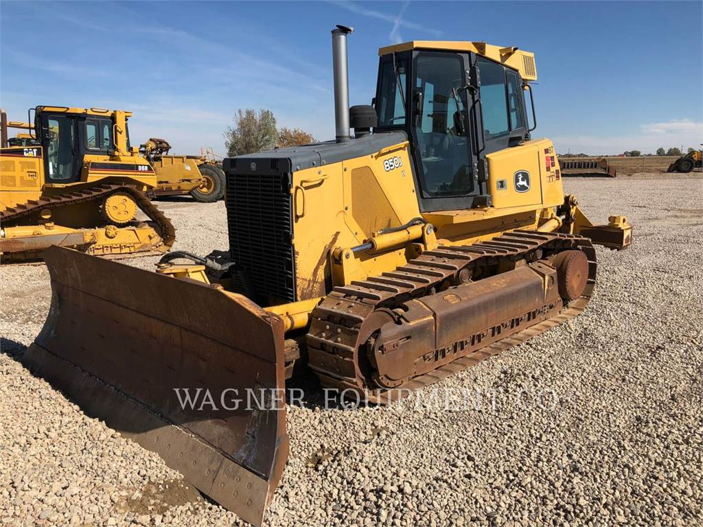 John Deere & CO. 850J LT, Buldozere, Constructii