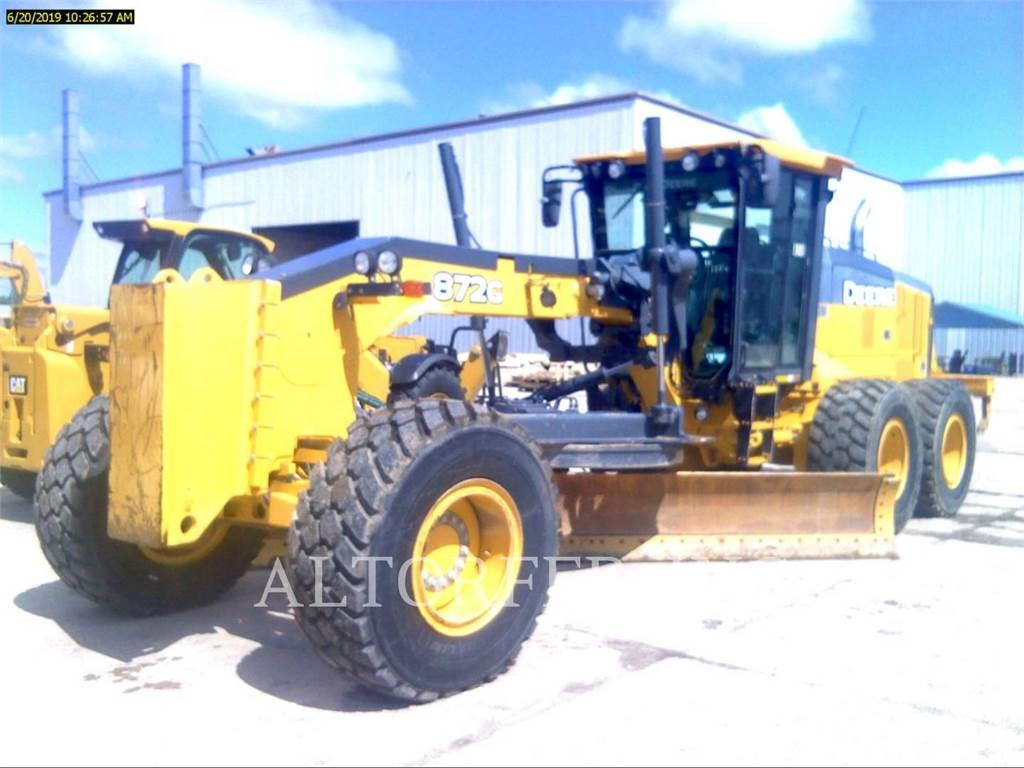 John Deere & CO. 872G, motor graders, Construction