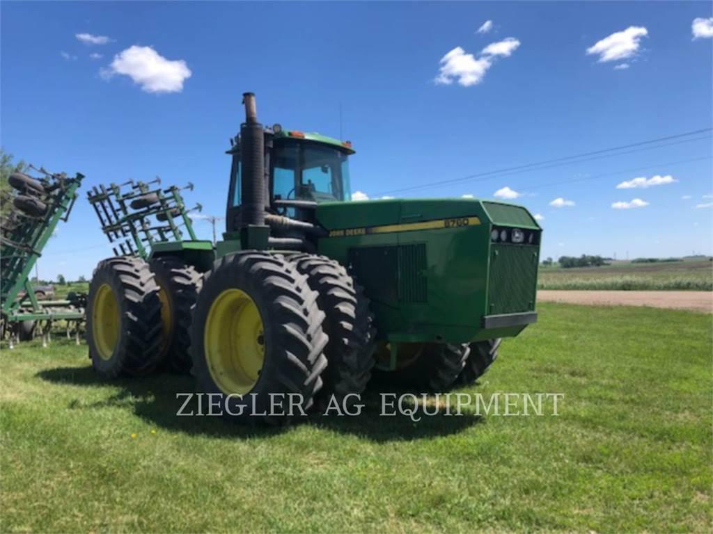 John Deere & CO. 8760, tracteurs agricoles, Agricole