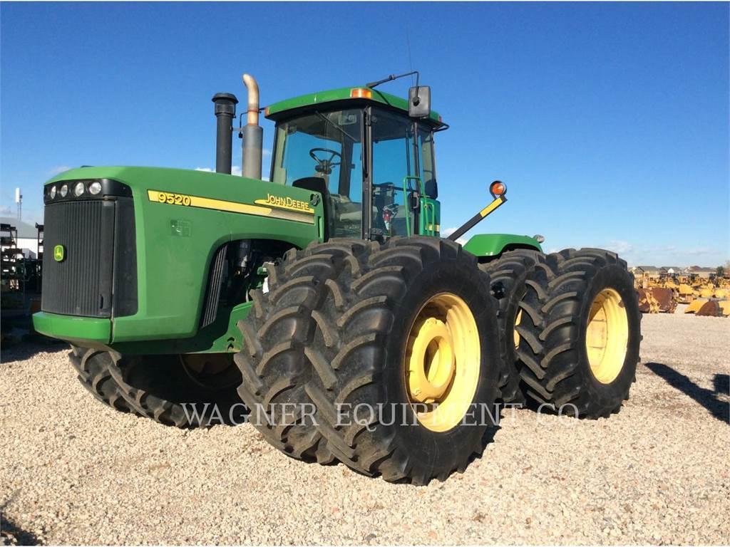 John Deere & CO. 9520, tractors, Agriculture