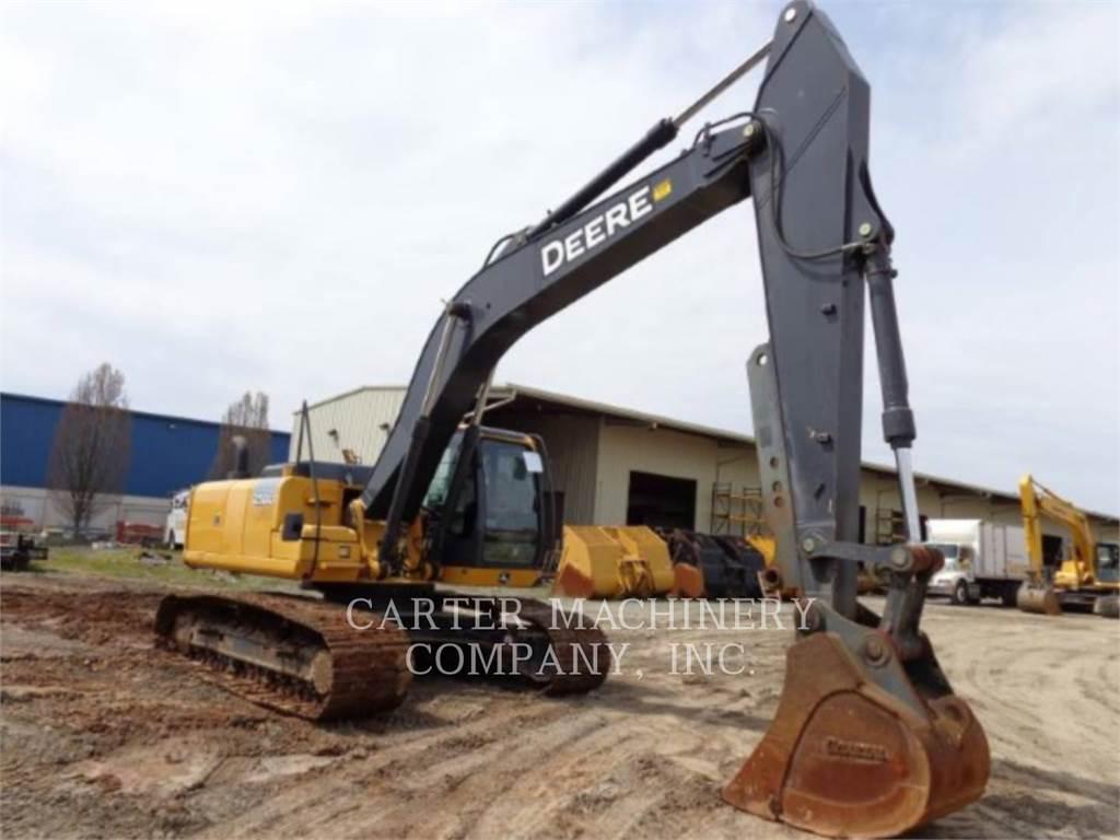 John Deere & CO. DER 250G, Crawler Excavators, Construction