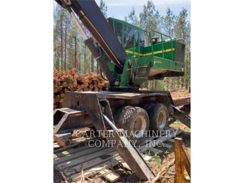 John Deere & CO. DER 437D, Boomstamladers, Bosbouw