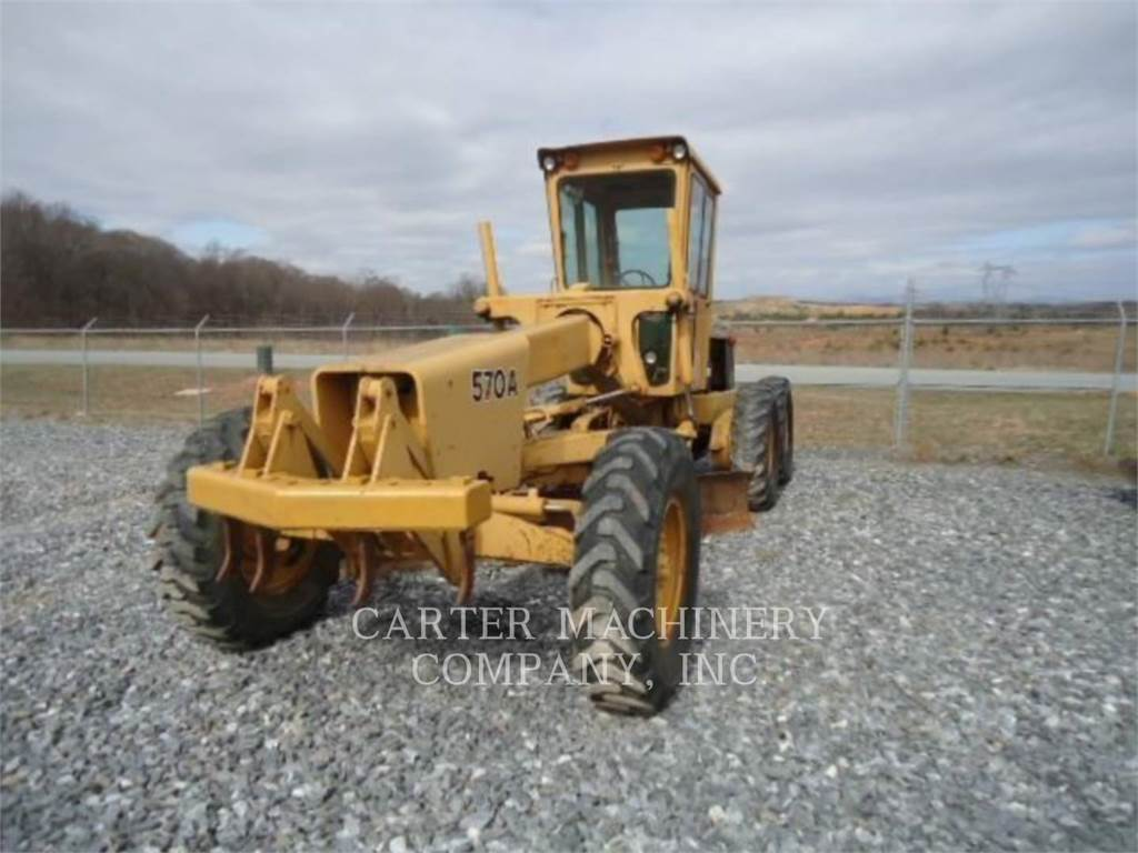 John Deere & CO. DER 570A, motor graders, Construction